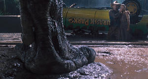 """A scene from """"Jurassic Park 3D."""""""