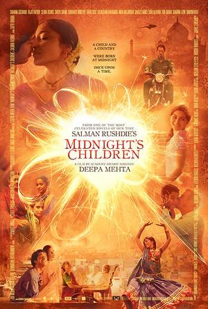 """Poster art for """"Midnight's Children."""""""
