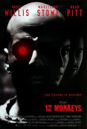 """Poster art for """"Twelve Monkeys."""""""