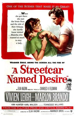 "Poster art for ""A Streetcar Named Desire."""