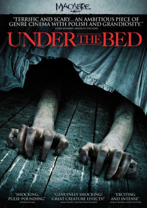 """Poster art for """"Under The Bed."""""""