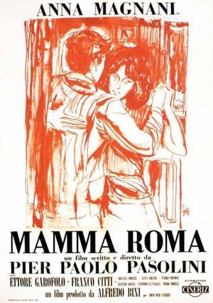 """Poster art for """"Accattone/Mamma Roma."""""""