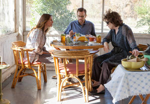 "Julia Roberts, Ewan Mcgregor and Meryl Streep in ""August: Osage County."""