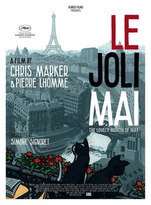 "Poster art for ""Le Joli Mai."""