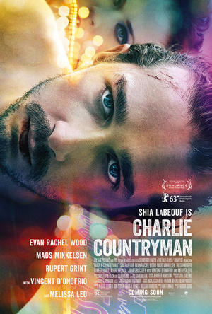 """Poster art for """"Charlie Countryman."""""""