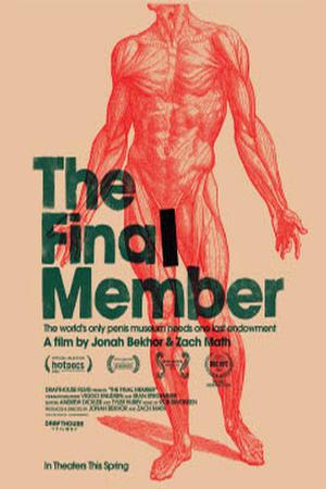 """Poster art for """"The Final Member"""""""