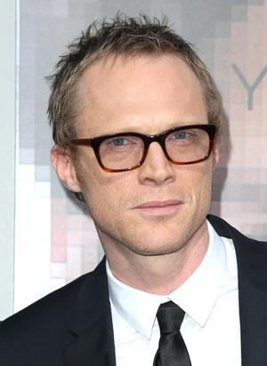"Paul Bettany at the California premiere of ""Transcendence."""