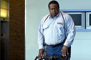 "Cedric the Entertainer in ""Code Name: The Cleaner."""