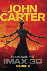 John Carter: An IMAX 3D Experience showtimes and tickets