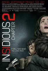 Insidious: Chapter 2 showtimes and tickets