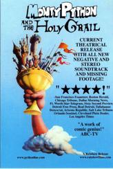 MONTY PYTHON & THE HOLY GRAIL/ERIK THE VIKING showtimes and tickets