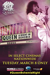 Queen: A Night in Bohemia showtimes and tickets