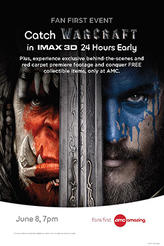 Warcraft Fan First Event showtimes and tickets