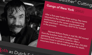 INFOGRAPHIC: Hollywood's Best Gangster Portrayals