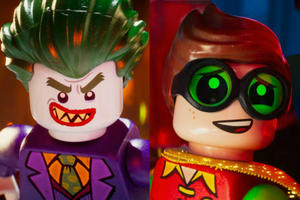 News Briefs: First Look at Joker and Robin in 'Lego Batman Movie'