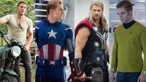 Pratt, Evans, Hemsworth, Pine -- Which Chris Is Toughest?