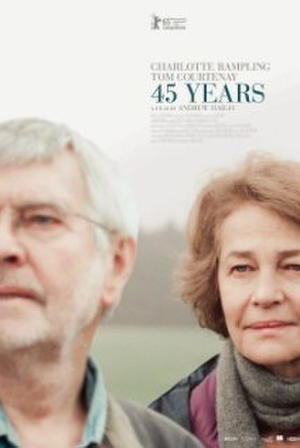 "Poster art for ""45 Years."""