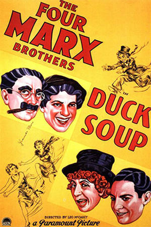 "Poster art for ""Duck Soup."""