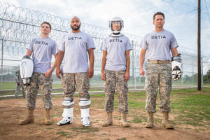 Check out the movie photos of 'Lazer Team'