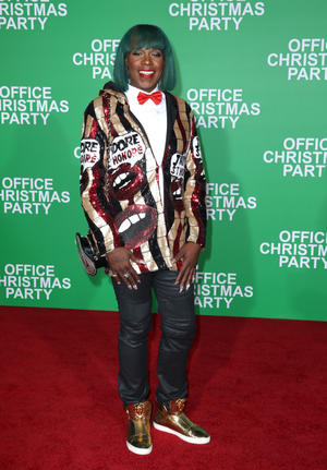 Check out the cast of the California premiere of 'Office Christmas Party'