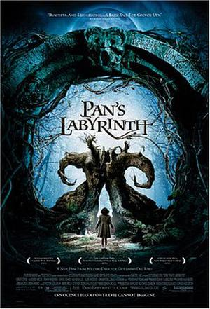 """Poster art for """"Pan's Labyrinth."""""""