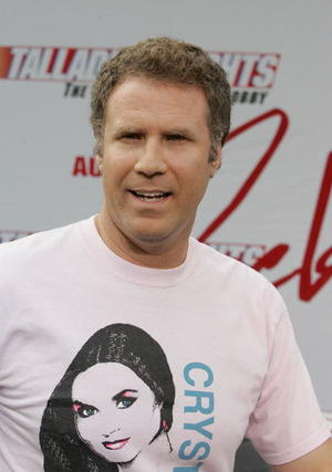 """Will Ferrell at the Hollywood premiere of """"Talladega Nights: The Ballad of Ricky Bobby."""""""
