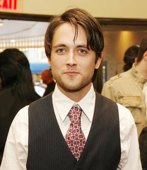 """The Invisible"" star Justin Chatwin at the Hollywood premiere."
