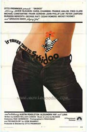 "Poster art for ""Skidoo."""