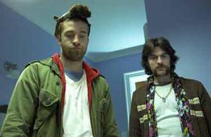 "Scott Speedman and Wes Bentley in ""Weirdsville."""