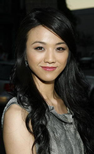 "Actress Tang Wei at the Beverly Hills premiere of ""Lust, Caution."""