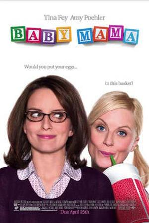 """Poster art for """"Baby Mama."""""""