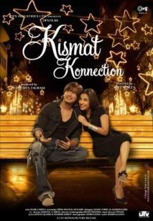 "Poster art for ""Kismat Konnection."""