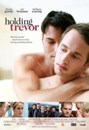 """Poster art for """"Holding Trevor."""""""