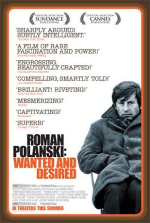 "Poster art for ""Roman Polanski: Wanted and Desired."""