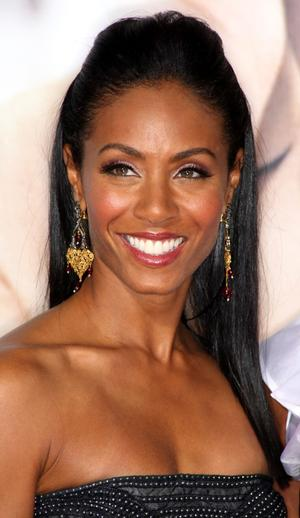"Jada Pinkett Smith at the California premiere of ""The Women."""