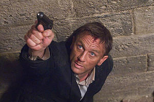"Daniel Craig as James Bond 007 in ""Quantum of Solace."""