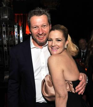"""Director Ken Kwapis and Producer Drew Barrymore at the after party of the California premiere of """"He's Just Not That Into You."""""""