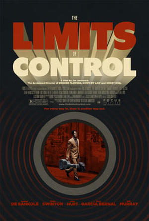 "Poster art for ""The Limits of Control."""