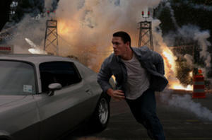 "John Cena as Danny Fisher in ""12 Rounds."""