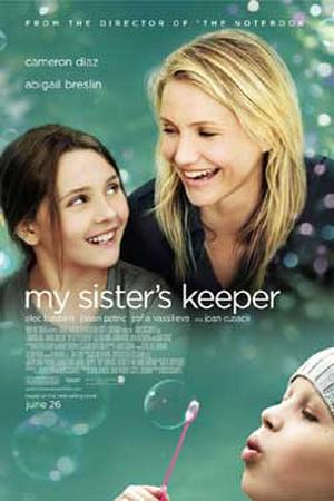 """Poster art for """"My Sister's Keeper."""""""