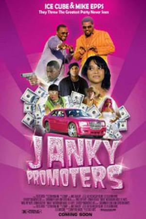 """Poster art for """"Janky Promoters."""""""