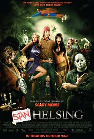 """Poster art for """"Stan Helsing."""""""