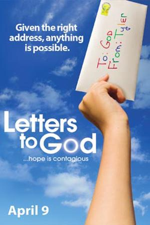 """Poster art for """"Letters to God."""""""