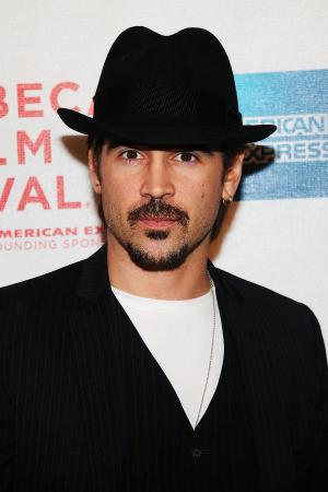"Colin Farrell at the New York premiere of ""Ondine."""