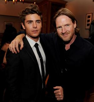 "Zac Efron and Donal Logue at the after party of the California premiere of ""Charlie St. Cloud."""