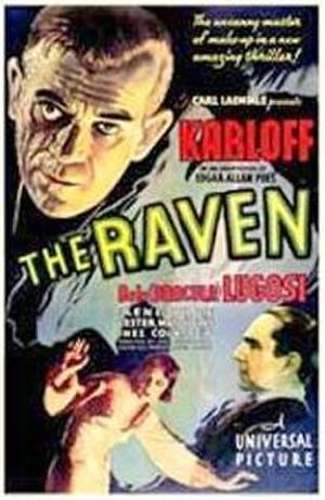 "Poster art for ""The Raven."""
