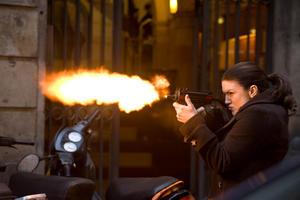 Gina Carano as Mallory Kane in ``Haywire.''