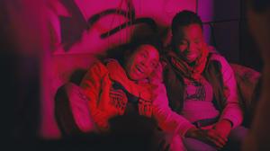 "Aasha Davis as Bina and Adepero Oduye as Alike in ""Pariah."""