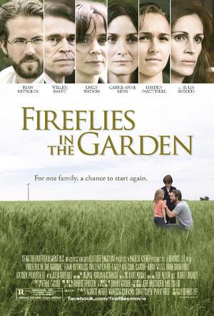 "Poster art for ""Fireflies in the Garden."""