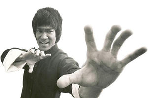 "A scene from ""I Am Bruce Lee."""